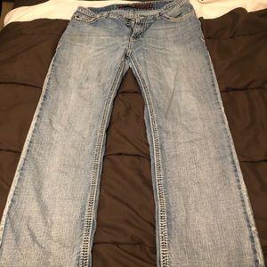 rock & roll men's jeans